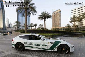 لاکچری ترین پلیس دنیا