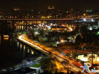 شب گردی در محله اورتاکوی استانبول